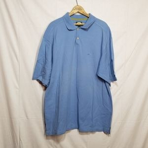 Tommy Bahama Blue Cotton polo relax fit XL